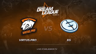 Evil Genuises vs Virtus.Pro, game 1