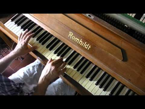 How to play Let it be INTRO on piano lesson tutorial