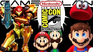 We discuss all the Nintendo games we played during Nintendo's Preview Night @ San Diego Comic-Con 2017, including Super Mario Odyssey, Metroid: Samus Returns, Mario & Rabbids: Kingdom battle, Mario & Luigi: SuperStar Saga + Bowser's Minions, and more in this in-depth discussion!---------------------------------Follow GameXplain!---------------------------------➤ PATREON:  https://www.patreon.com/GameXplain➤ FACEBOOK:: http://www.facebook.com/gamexplain➤ TWITTER: http://twitter.com/GameXplain➤ INSTAGRAM: https://www.instagram.com/gamexplain_official➤ GOOGLE+: https://plus.google.com/108004348435696627453⮞ Support us by shopping @ Play-Asia- http://www.play-asia.com/?tagid=1351441 & @ AMAZON- http://geni.us/wq8 ⮜