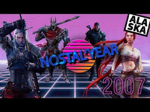 ЛУЧШИЕ ИГРЫ 2007 ГОДА (ЧАСТЬ 2) [Nostal'year]