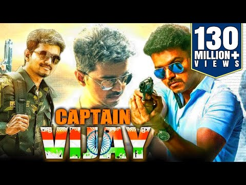 Captain Vijay (2018) Tamil Film Dubbed Into Hindi Full Movie | Vijay, Kajal Aggarwal