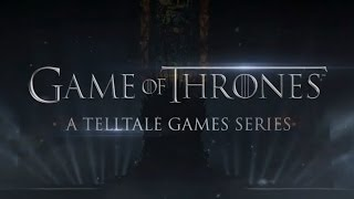 Game of Thrones - A Telltale Games Series Accouncement Trailer