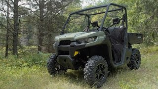 8. Full REVIEW: 2017 Can-Am Defender HD8 DPS