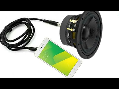 Mobile Aux Jack connect to direct Speaker