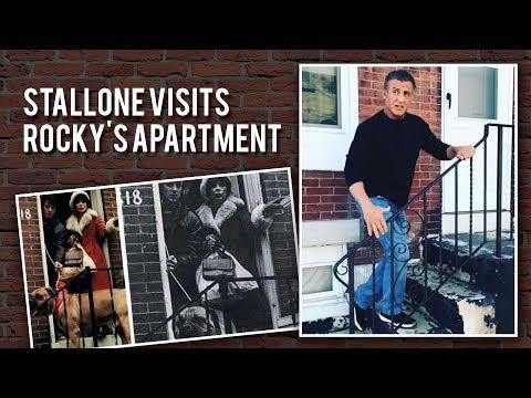 Sylvester Stallone Returns to Rocky Balboa's Apartment