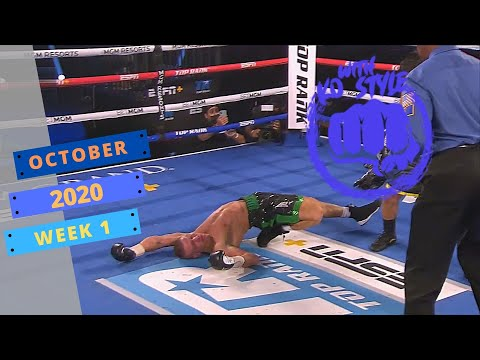MMA & Boxing knockouts   October 2020 Week 1