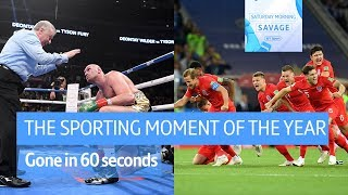 The sporting moment of 2018? Ryder Cup, Dier's penalty, Fury's comeback! | Gone in 60 seconds
