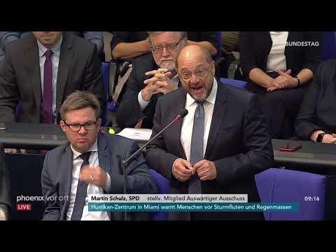 Martin Schulz zur Rede von Alexander Gauland zu den V ...