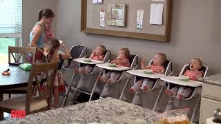 Sześć razy córka - Jak nakarmić pięcioraczki? :) | TLC