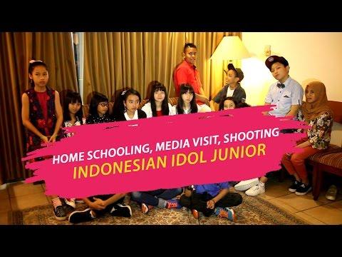 Keseruan Home Schooling, Media Visit, Shooting Rumah Mama Amy Peserta Indonesian Idol Junior