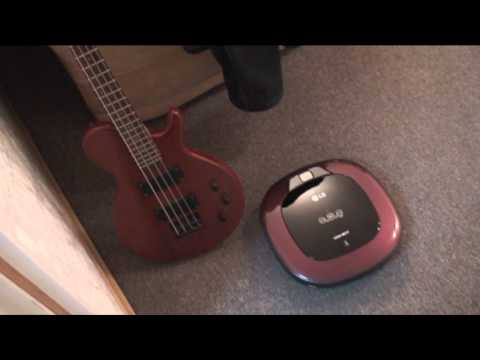 Робот пылесос LG HomBotVR63406LV (видео)