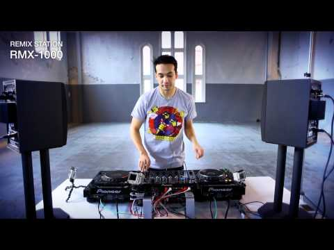 rmx - Laidback Luke performance with RMX-1000 new Pioneer Remix Station. Track used, Laidback Luke feat. MC Goodgrip - 'Rocking With The Best' (Virgin)