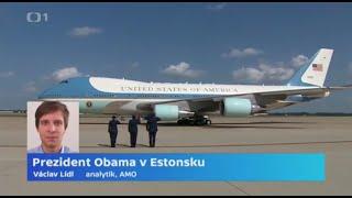 Prezident Obama v Estonsku