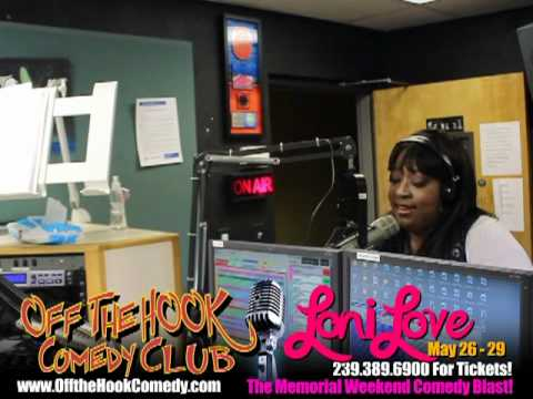 Loni Love Coming to Off the Hook Comedy Club! May 26 - 29! Radio Promotion