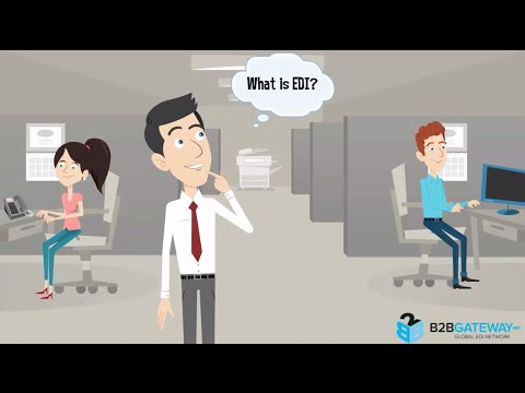 What is EDI (Electronic Data Interchange) Tutorial | B2BGateway (видео)