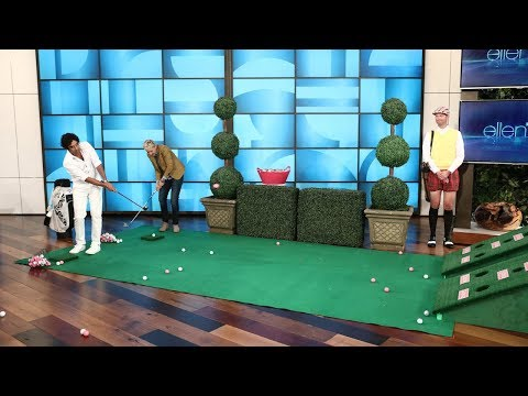 Kunal Nayyar Goes Golfing for Charity