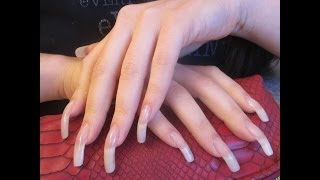 ASMR: Tapping And Scratching A Beauty Case With My Long Natural Nails - (video 60 FULL VERSION)