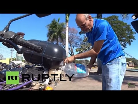 Video: Motorbike Runs 500km on a Liter of Water