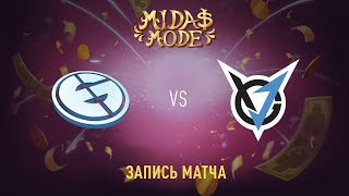 Evil Geniuses vs VGJ Storm, Midas Mode, game 2 [Jam, Autodestruction]