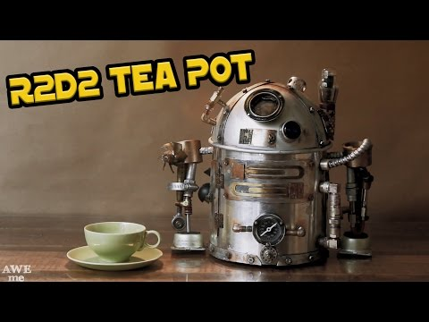 Build Your Own Star Wars R2D2 Teapot with Scrap