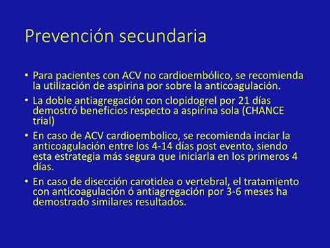 Guía 2018 para el manejo de ACV. Dr. Guido Vannoni. Residencia de Cardiología. Hospital C. Argerich. Buenos Aires