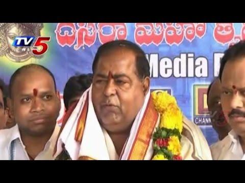 T-Council Deputy Chairman N.Vidyasagar Rao Visit Kanaka Durga Temple : TV5 News