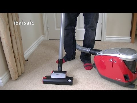 Bosch GS50 Power Animal Bagless Vacuum Cleaner Unboxing & First Look