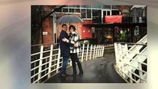 Winter Engagement Photography in Castlefield