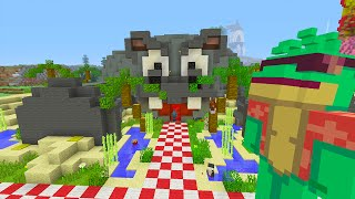 Minecraft Xbox | Survival Madness Adventures 2 | Hungry Hippos Mini Game [13]