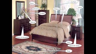 The bedroom Vocabulary Practice