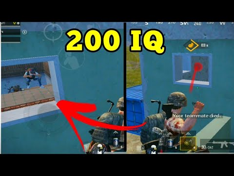 PUBG MOBILE FUNNY MOMENTS | 200 IQ | BEST MOMENTS