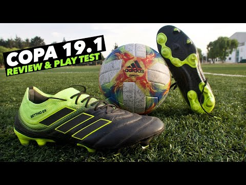 ADIDAS COPA 19.1 | REVIEW & PLAY TEST 🔥