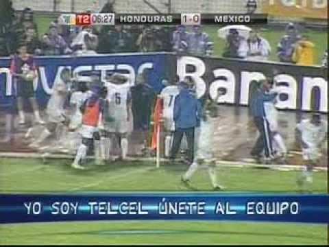 Honduras 1-0 Mexico 2008 eliminatoria concacaf