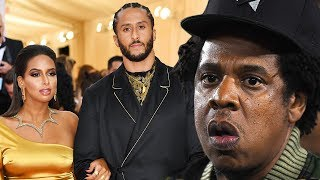 Colin Kaepernick & Girlfriend Nessa SHADE Jay Z In RESPONSE To Hova's NFL Deal! by Obsev Sports