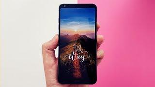 O LG G6 inovou ao trazer um novo padrão de formato de tela nos smartphones com uma proporção 18:9 adaptada ao formato de...