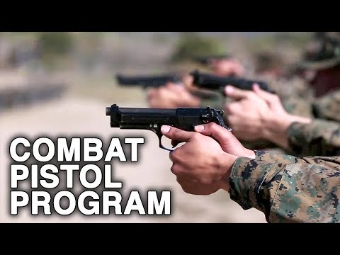 U.S. Marines Combat Pistol Program