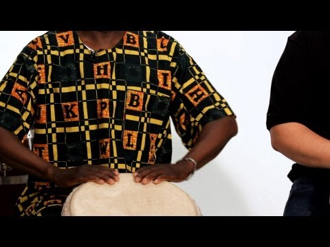 How to Play the Flam on Djembe | African Drums