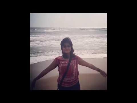 Hot Actress Ramya Nambeesan at Beach