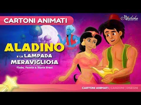 Aladino e la lampada meravigliosa storie per bambini | cartoni animati | Storie della buonanotte