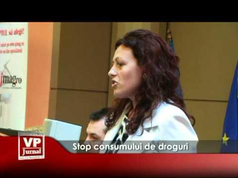 Stop consumului de droguri