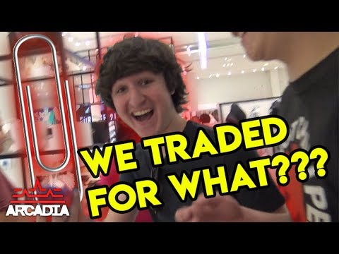 We Traded A Paper Clip For A CAR | Barter Trading Challenge