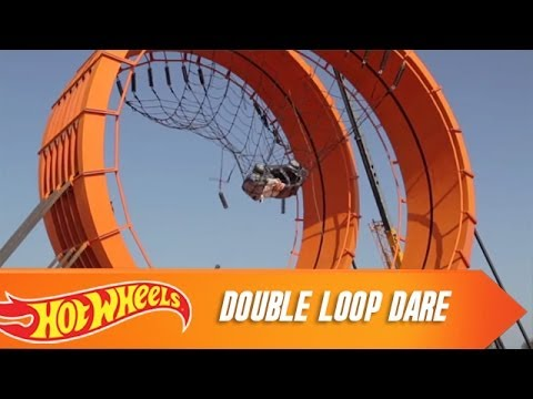 Hot Wheels   Double Loop Dare Documentary | Video