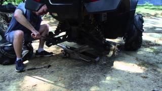 7. How To Remove Honda Rincon Rear Axles