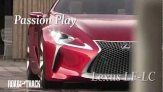 Lexus Lf-lc Concept: Show Car Exclusive