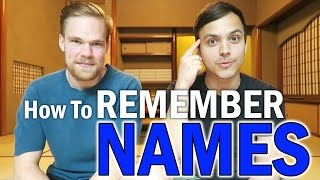 7 Clever TRICKS To Remember Names