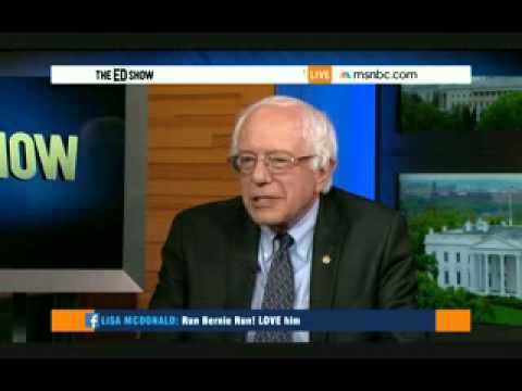 Interview of Senator Bernie Sanders on The Ed Show 4/30/2015 Part 2