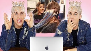 Video HAIRDRESSER REACTS TO JENNA MARBLES GIVING HERSELF HAIR EXTENSIONS! | bradmondo MP3, 3GP, MP4, WEBM, AVI, FLV Agustus 2019