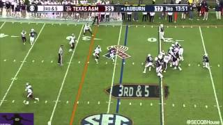 Nick Marshall vs Texas A&M (2014)