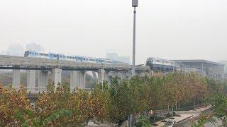 Chongqing Monorail Line 2&3 Time-lapse Metro