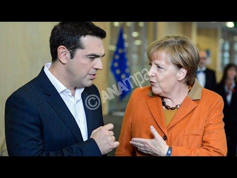 Συναντήσεις του πρωθυπουργού με Μέρκελ και Ολάντ, στις Βρυξέλλες